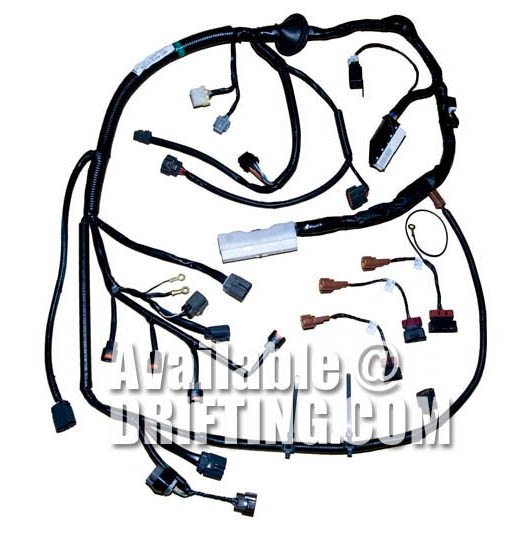 sr20det rb25det and rb20det wiring harnesses drifting com rh drifting com rb20det wiring harness for sale rb20det wiring harness s13