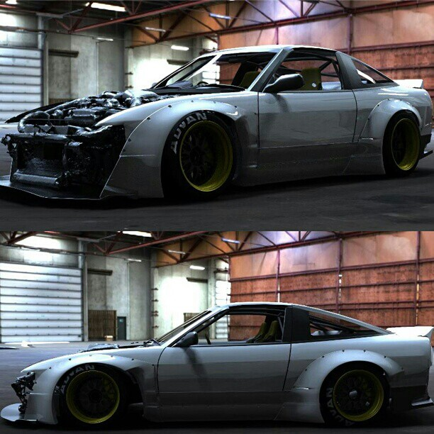 Rocket Bunny 240SX New Body-Kit Coming Soon @trakyoto #driftingcom