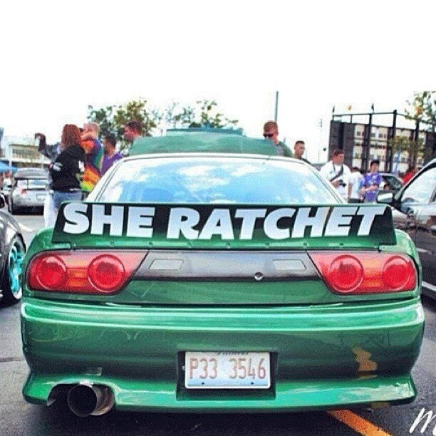 RatchetBunny #RatchetBunny - Whose car and who took the original photo? Photo posted on @andy_goes_hard_in_the_paint
