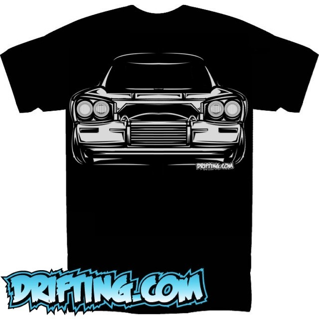 @DRIFTINGCOM - Old School Shirt (Version 2) Designed , Printed and Sold by @DRIFTINGCOM