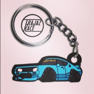 Kato my Car Nissan Skyline Ken&Mary Key Chain(^^)