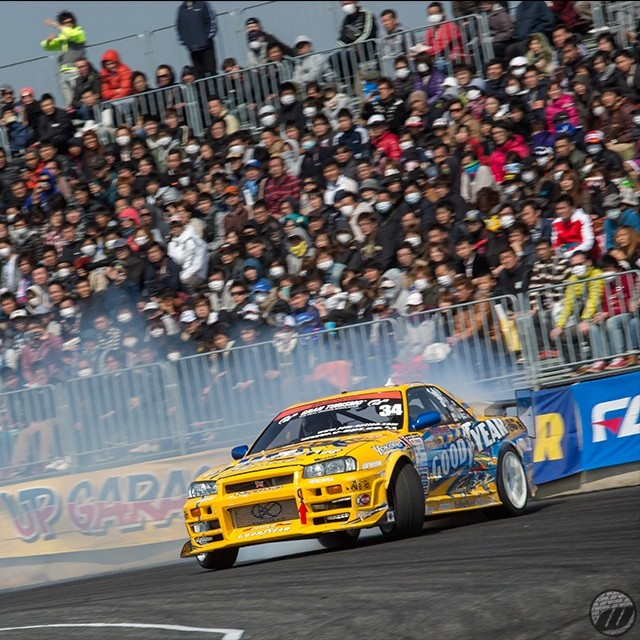 First round of D1GP in Fuji Speedway this week-end! Who's your favorite driver this year?