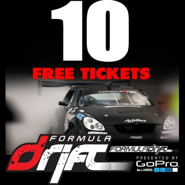 "(17 DAYS AWAY) FORMULA DRIFT - Road Atlanta - May 9-10 2014 - 10 General Admission Tickets (1 Per Winner) - HOW TO ENTER: Tell us why you deserve tickets! You NEED to put some time into your response and use the hashtag to help support your story; that is how we select the winners. Ex. Your history of being an FD fan .. past events ? Favorite Driver and why ? What have you done to help promote drifting ? What are you looking forward to this year ? Are you building a drift car ? - DO NOT POST ""I am broke so give me tickets"" - TERMS: Each winner will be assigned 1 General Admission Ticket. We will select the winners on or before April 27th. Once the winners are announced you will have 48 hours to provide your name so we can add it to the list. You MUST respond on time or the tickets will be assigned to someone else. Thank you!"
