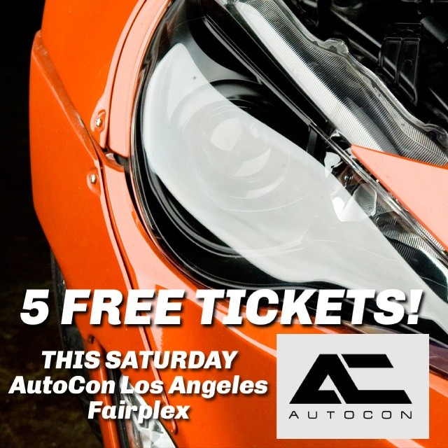 5 Tickets (1 Per Winner) HOW TO ENTER: Tell us why you deserve a ticket! You NEED to put some time into your response and use the hashtag #autoconcontest to help support your story; that is how we select the winners. - DO NOT POST