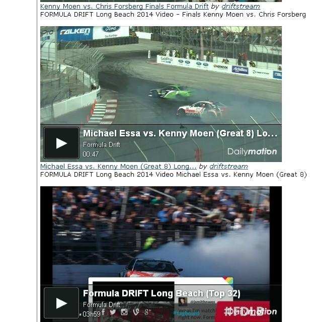 FORMULA DRIFT Long Beach 2014 Videos