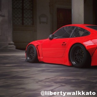 LB Works No5 Coming Soon - Image Posted on @libertywalkkato