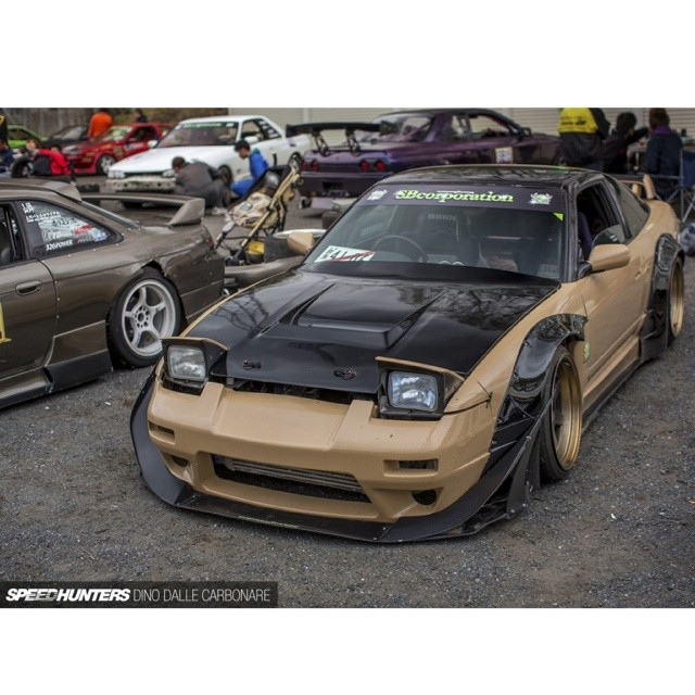 SBcorporation Rocket Bunny 180SX - Photo by Dino Dalle Carbonare from Speedhunters @thespeedhunters