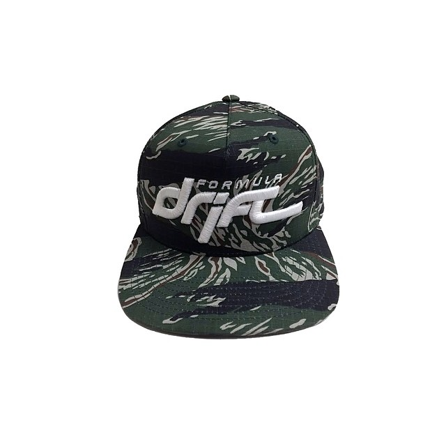 Formula DRIFT Camo Snapback Hat. This special color way will be limited to 200 pieces visit www.shopfd.com #formulad #formuladrift