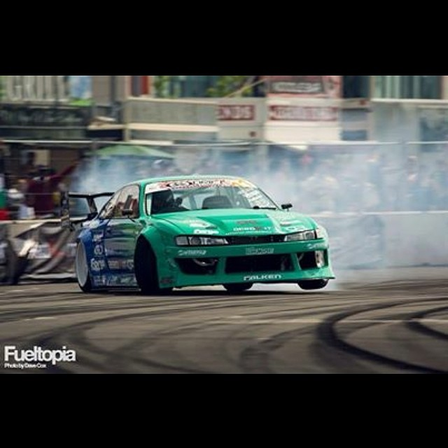 I can't wait for Drift Allstars round 2 in Czech Republic in June. The S14 should be better than ever and I'm excited to drive against the best European drifters! Falken Motorsports #jd130 #onamission #missionimpossible?