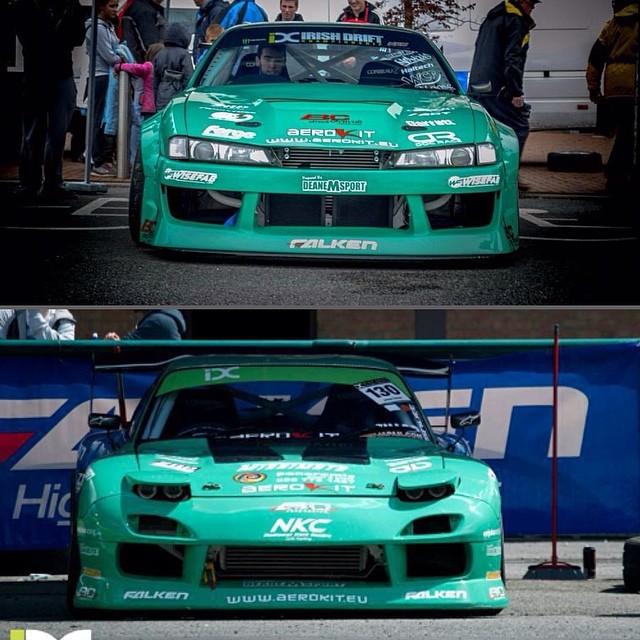 My two beasts! S14 X RX7 @falkenmotorsports
