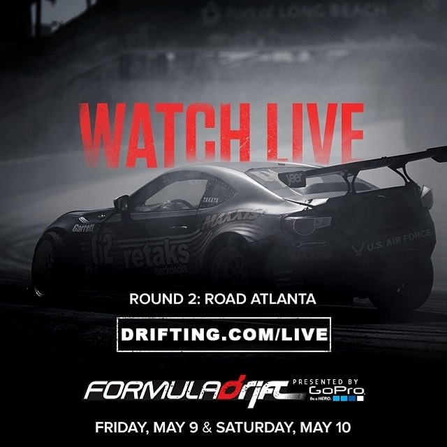 Watch FORMULA DRIFT Live on DRIFTING.COM/LIVE @DRIFTINGCOM