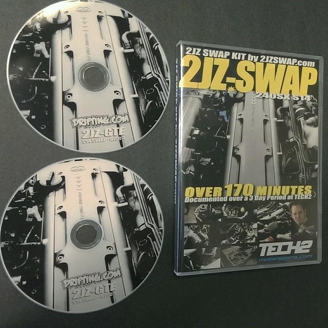 2JZ 240SX SWAP DVD by @DRIFTINGCOM