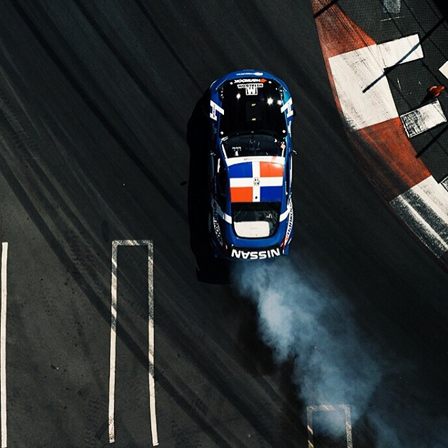 @jcastroracing Nissan 370Z powered by a VK56 @hankookusaracing #formulad #formuladrift Photo by: @larry_chen_foto