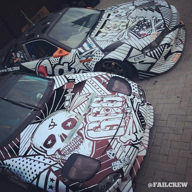 FailCrew RX7 and S14 @ciay @felikschitipakhovian @tvardovskymax @FailCrew