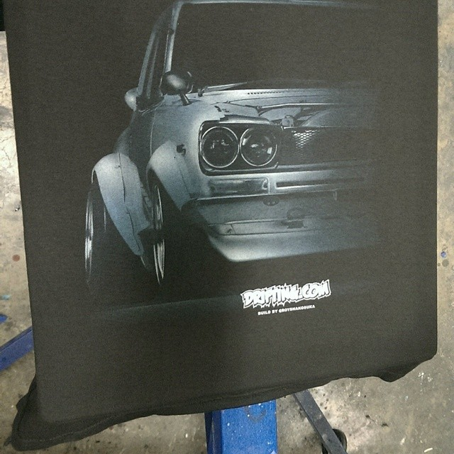 First Test Print , Next one will be brighter , Old School Fatty By @DRIFTINGCOM / Car Build by @Royshakosuka