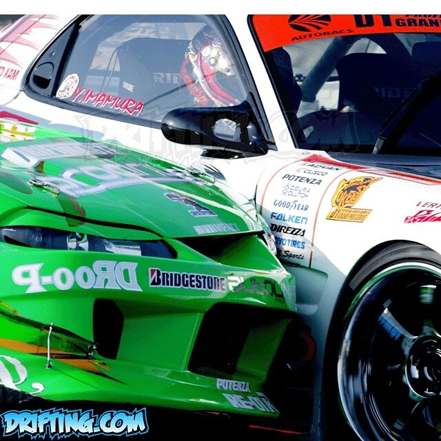 KAZAMA vs IMAMURA - D1GP USA Irwindale 2005 - Photo by @DRIFTINGCOM