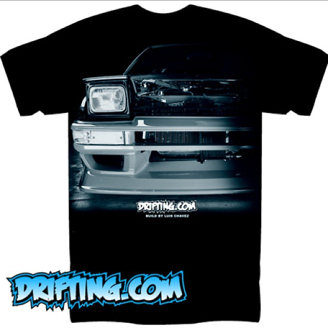 (MID-JULY RELEASE) 86 Shirt by @DRIFTINGCOM - Car Build by @CorollaCreep86 - Note , this may not be the final color and some adjustment to the artwork will be applied