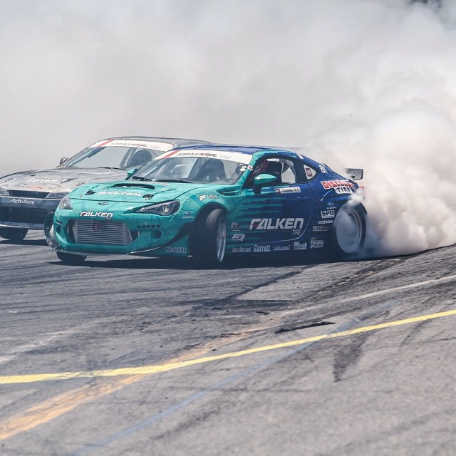 My #BRZ is running strong. I still have plenty more in me and the car. I'm going to #top16. #teamfalken #discounttire #runbc #turn14 #illest #borla #formulad #tandem #drift #azenisrt615k #flogthefrog