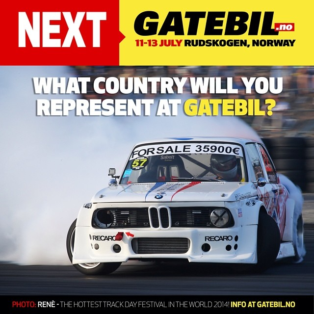 People from all over the world are coming, what country are you from? ️ #Gatebil #breisladd #powerslide #Rudskogen #drifting #Norge #Norway #Wisefab #festival #BMW
