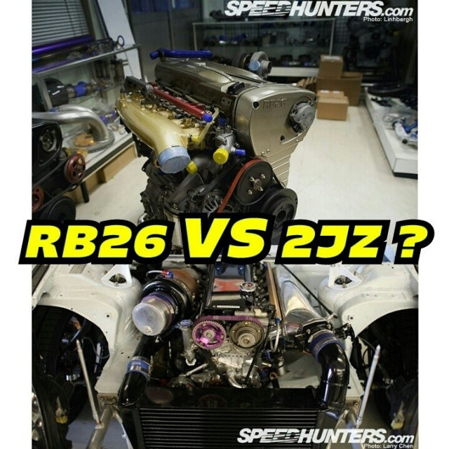 RB26 VS 2JZ ? - Photos by @thespeedhunters