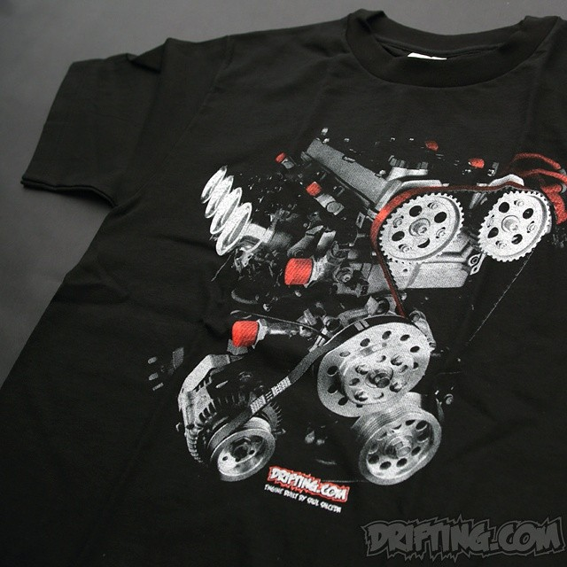 SILK-SCREEN PRINT / PHOTO-SHOOT / DESIGN By @DRIFTINGCOM - - ENGINE BUILD By Saul Salceda