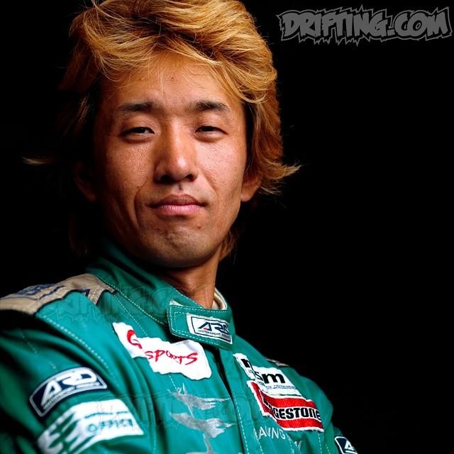 YASUYUKI KAZAMA - 2003 @DRIFTINGCOM Photo Shoot