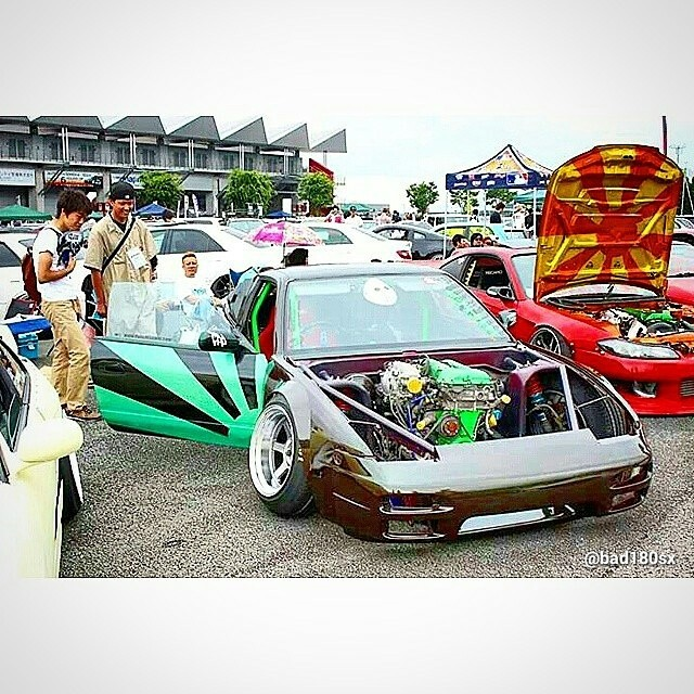 180SX at Offset King Japan @bad180sx