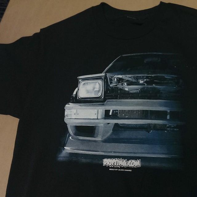 @DRIFTINGCOM 86 Night Shirt - 2nd print sample