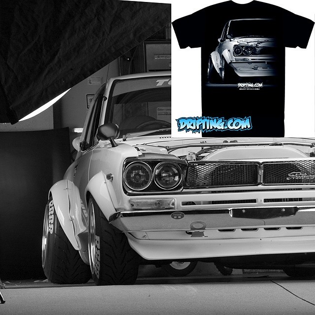 @DRIFTINGCOM Old School Fatty Shirt