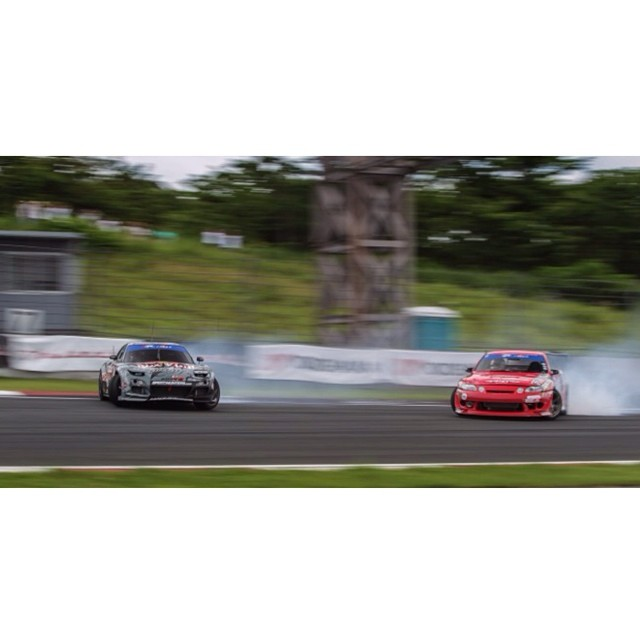 Check Speedhunters.com for full coverage from @formulad Japan Fuji #JAPBUL #backitin #FDJP #maximumATTACK pic props @speedhunters_dino