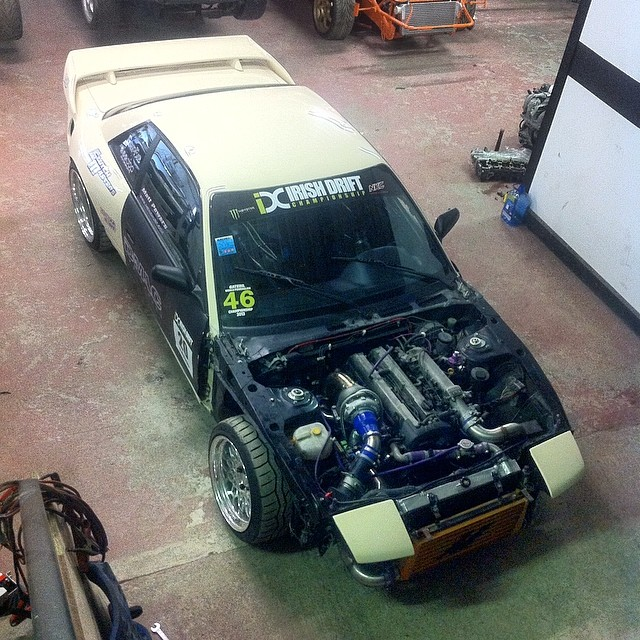 Collected my 240sx for WCP today after being mapped on it's