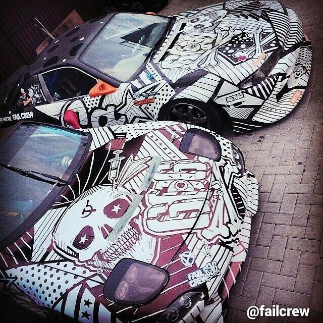 FailCrew Mazda RX-7 & S14 Zenki @failcrew