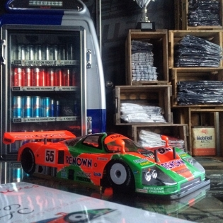 Finished assembling my 1/12 RC MAZDA 787b SUPERRAJIKON