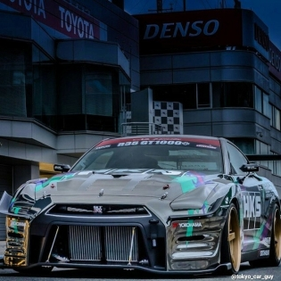 HKS R35 GTR at Motorgames Japan - Photo by @tokyo_car_guy http://t-c-p.blogspot.jp/