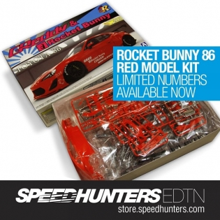 Limited numbers of these red 86 kits just went up for sale in @thespeedhunters store! Get yours at store.speedhunters.com!