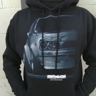 OLD SCHOOL FATTY Hoody by @DRIFTINGCOM