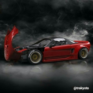 Rocket Bunny NSX Body Kit
