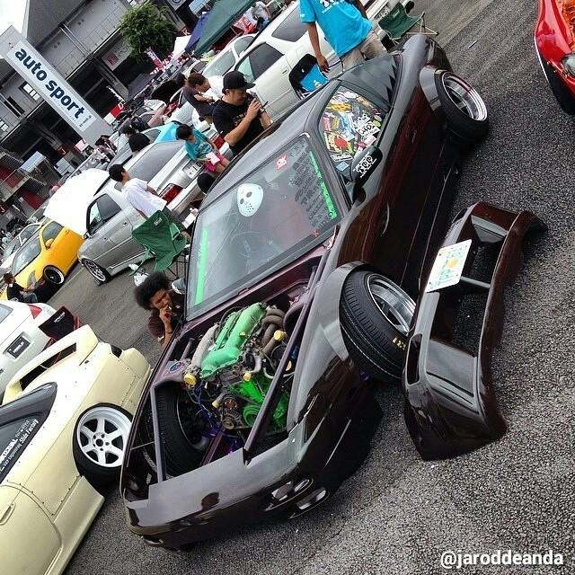 S13 at Formula Drift Japan 2014 – Photo by @jaroddeanda