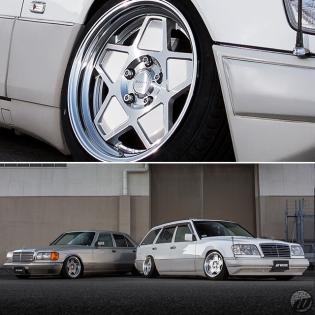 @otascars Benz on new WORK Seeker SX