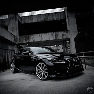 @skipperjapan Lexus IS350h on new WORK Durandal DD10.1 F:20x8.5J / R:20x9.5J