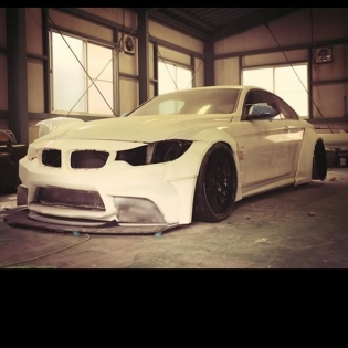 BMW 4 series kit coming up soon! First kit going to LTMW!! We are very exciting to see how to built Ltmw! @forgiato