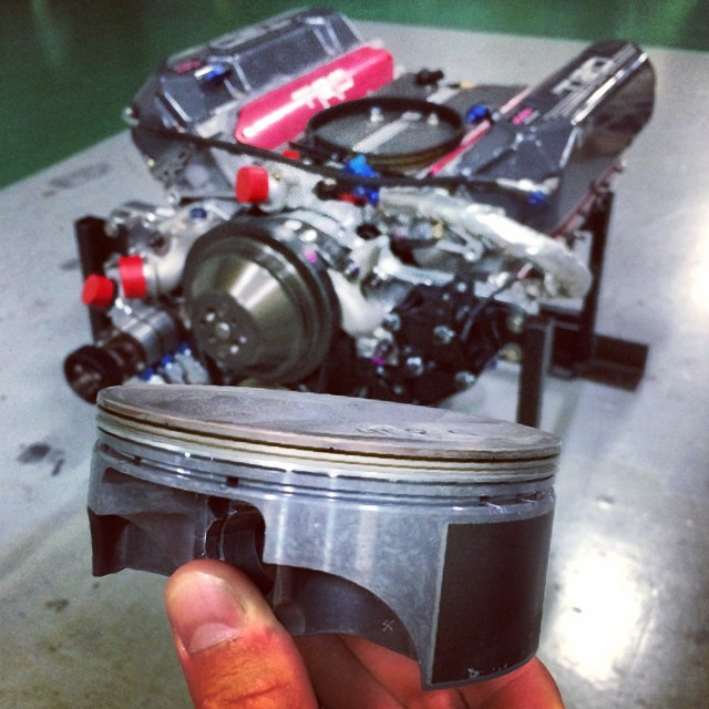 Can you say #ShortSkirt? TRD Phase 9 #NASCAR piston out of the RS-R Toyota GT86 drift car. #holdstumt #joyofmachine