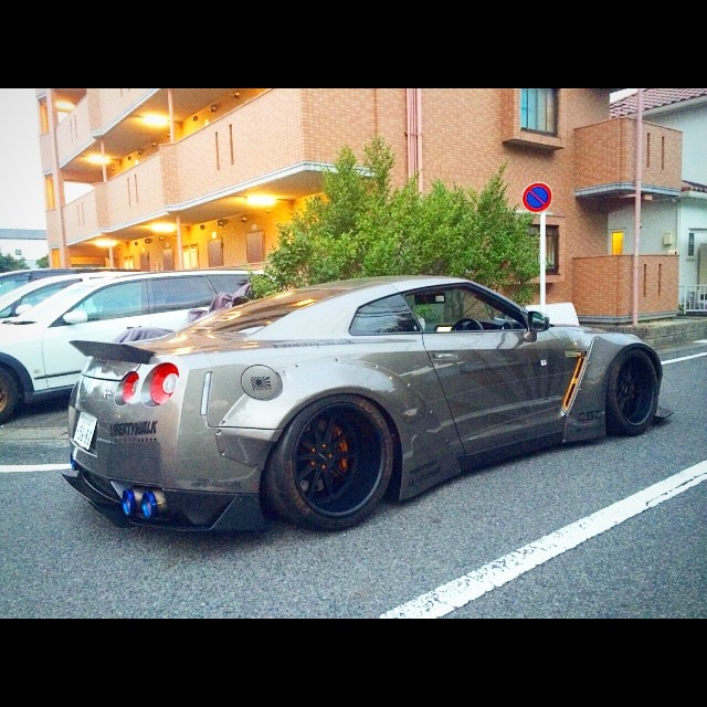 LB★WORKS GTR 35 Japan #libertywalk #lbperformance #lbworks #ltmw #forgiato @forgiato #toyo #armytrix #airrex #nissangtr #nissan #hks #speedhunter