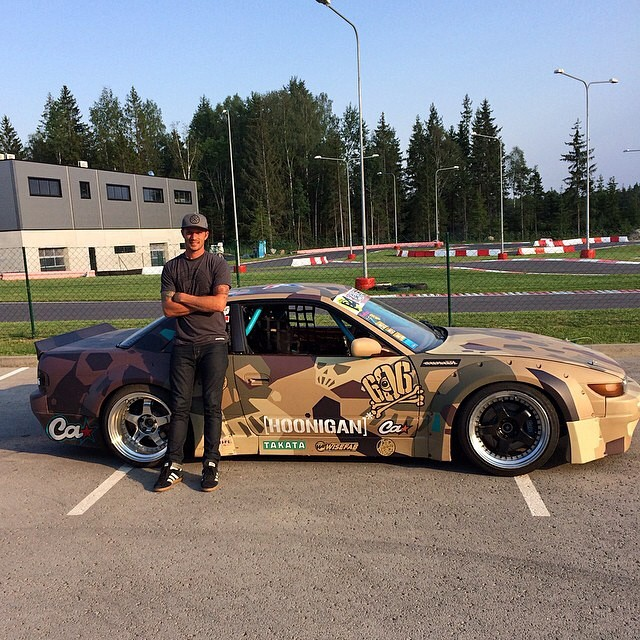 Repost from @ryantuerck My ride for @driftallstars this weekend in Estonia at #laitserallypark. Big thanks to all of @failcrew for making this happen and @jumpduckfckup, @tvardovskymax for being awesome dudes. Rocket Bunny s13, @_wisefab_, Ls engine and a sweet course layout. Should be an awesome weekend slaying tires. @thehoonigans @takataracingusa #rocketbunny #failcrew