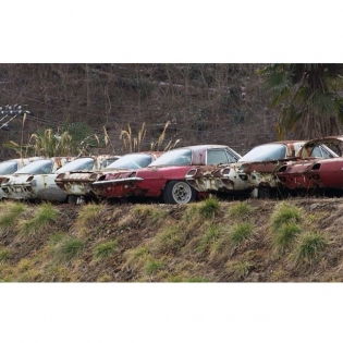 Sad..R.I.P 1964 Mazda's 1st production Rotary Powered vehicle. I would kill for one of these.