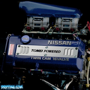 TOMEI SR20DET - Photo by @DRIFTINGCOM