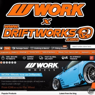 WORK Wheels is proud to announce that @driftworks_ltd is now our official distributor in UK! Don't hesitate to contact them for info and pricing! www.driftworks. com