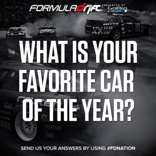 What is your favorite car of the year? |