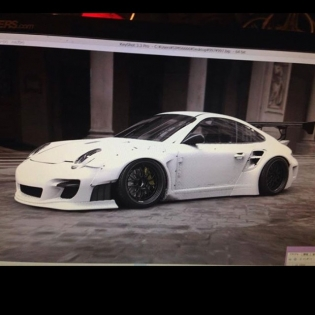 lb★WORKS PORSHE997 TORBO @forgiato