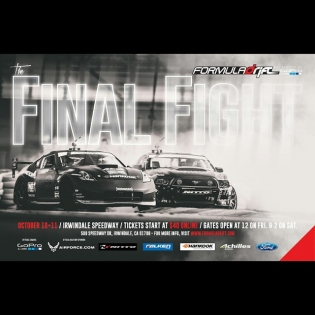 24 Days Away - Formula Drift Irwindale